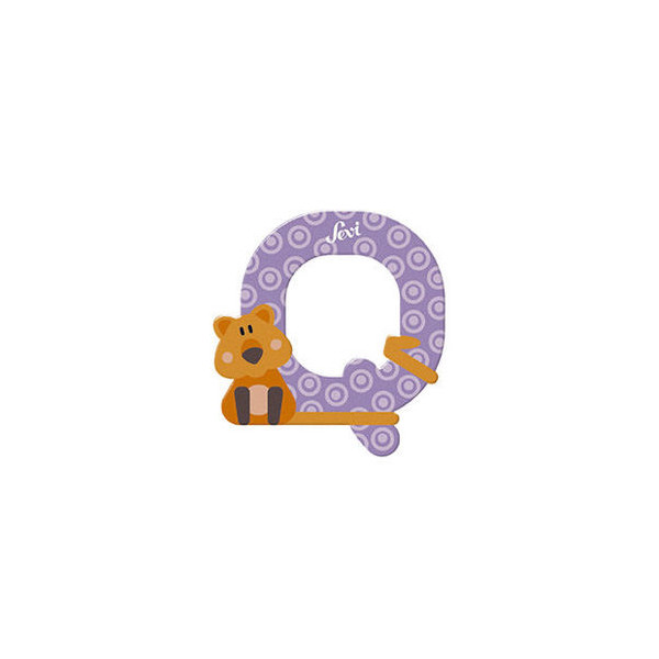 TRUDI Tier-Buchstaben 10cm Quokka Q