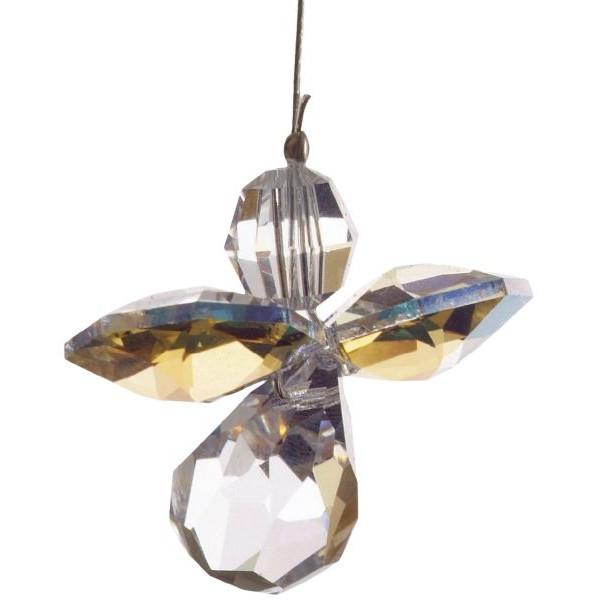 HCA 5080ab Swarovski-Kristall Schutzengel klein Nordlicht