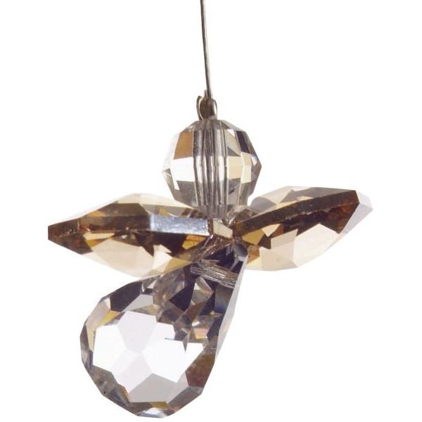 HCA 5080go Swarovski-Kristall Schutzengel klein Gold
