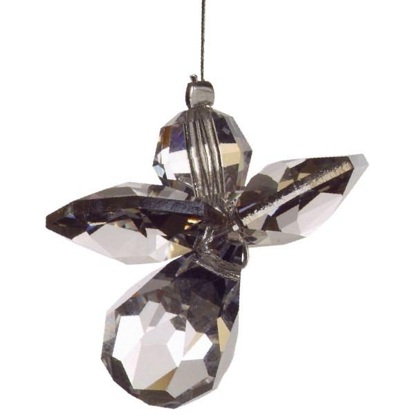HCA 5080sil Swarovski-Kristall Schutzengel klein silber