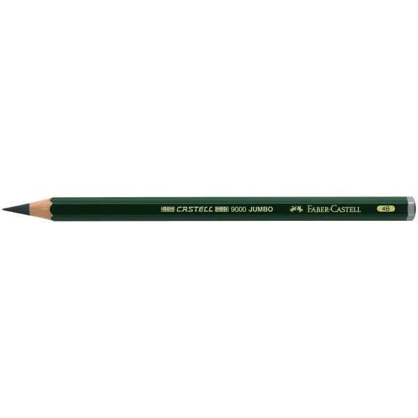 Faber-Castell 119304 Bleistift 9000 Jumbo 4B