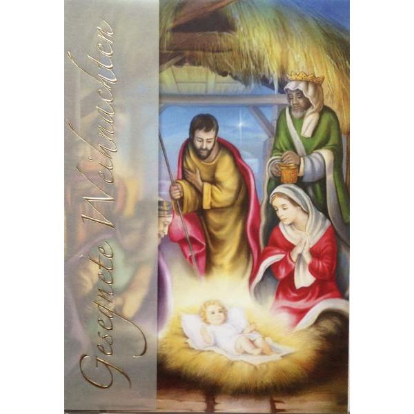 22-LC37 Bild Weihnachtskarte heilig