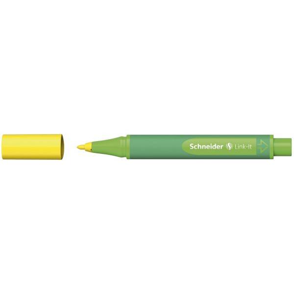 SCHNEIDER SCHNEIDER 192005 Faserschreiber Link-It gelb