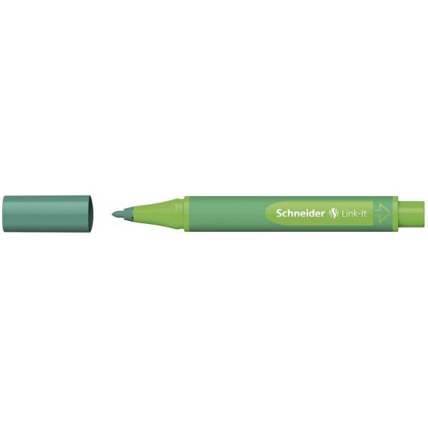SCHNEIDER SCHNEIDER 192014 Faserschreiber Link-It n.grün
