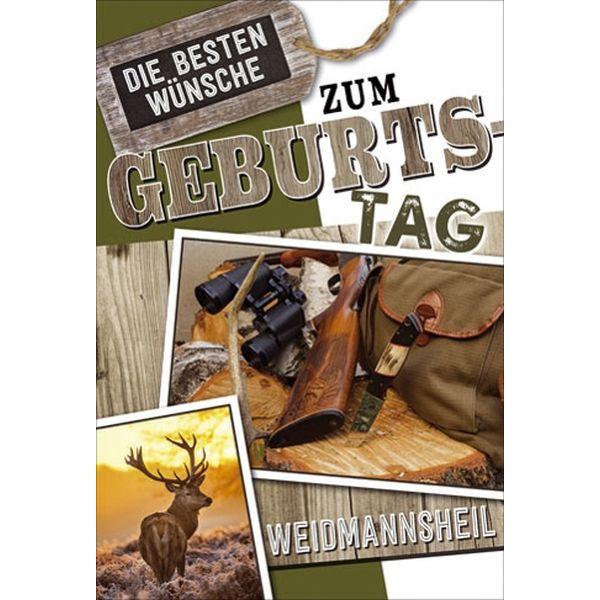 51-275200 Bild Geburtstagskarte Jäger
