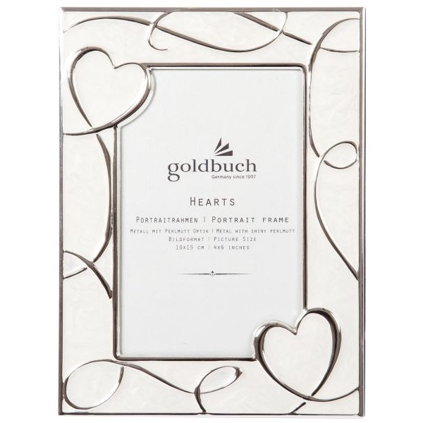 GOLDBUCH GOLDBUCH 960242 f.10x15cm Bilderrahmen Hearts