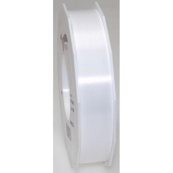 PRÄSENT Geschenkband Ringelband 25mm x 91m weiß
