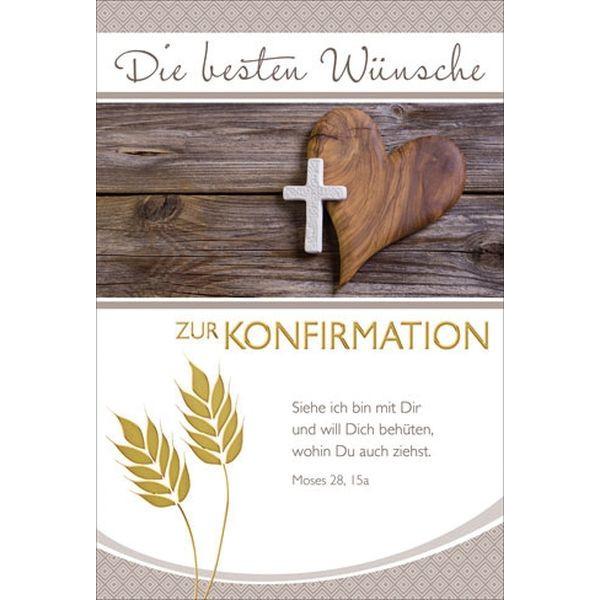 Konfirmationskarte - inkl. Umschlag