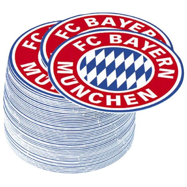 FC Bayern Bierdeckel FC Bayern Emblem - 50 Stück