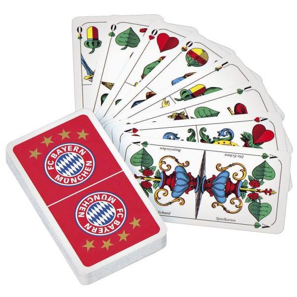 FC Bayern Schafkopfkarten mit Logo