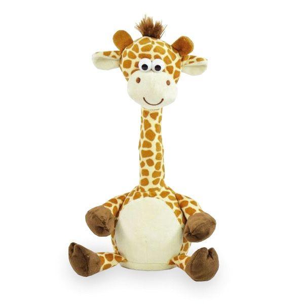 Plüschtier Laber Giraffe - 30 cm, inkl. 3x AAA Batterien