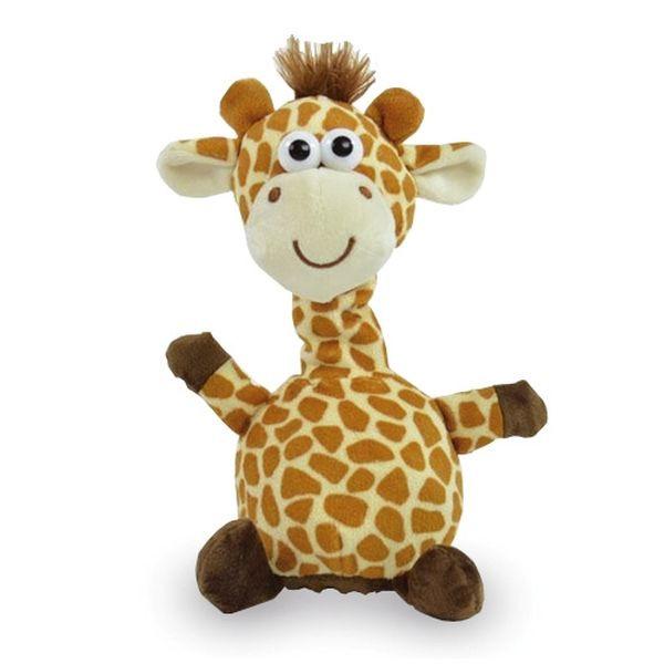 Plüschtier Laber Giraffe - 18cm, inkl. 3x AAA Batterien