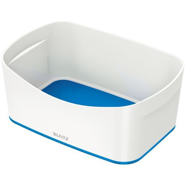 Leitz Aufbewahrungsschale MyBox - A5, ABS, weiß/blau