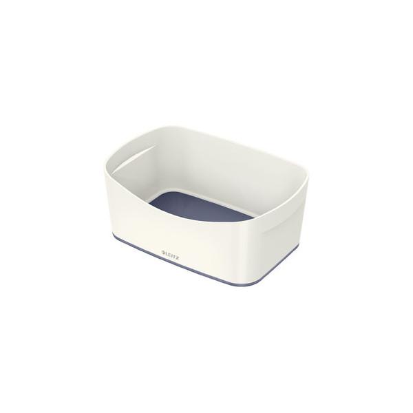 Leitz Aufbewahrungsschale MyBox - A5, ABS, weiß/grau
