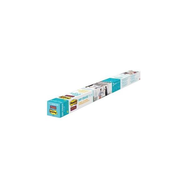 Post-it SuperSticky Dry Erase Whiteboardfolie / Schreibfolie - 91,4 x 121,9 cm