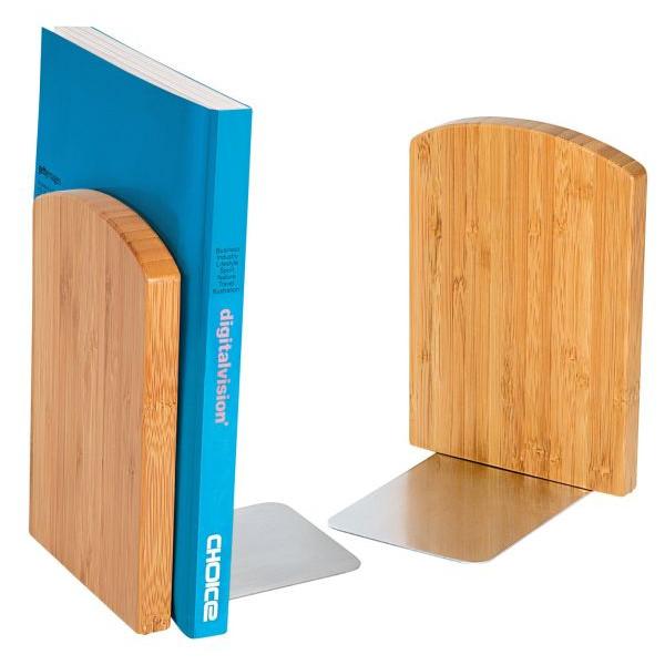 Wedo Buchstützen-Set - Bambus, 2-tlg.