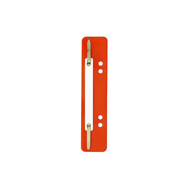 ELBA Heftstreifen 3,5 x 15 cm (B x H) PP rot 25 St./Pack.