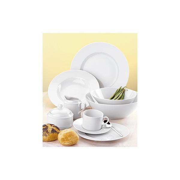 Esmeyer Menü-Geschirr-Set Heike 30-teilig weiß Porzellan