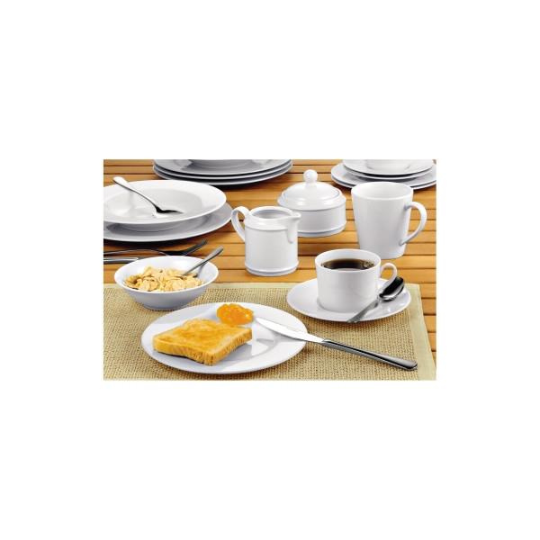 Esmeyer Kaffee-Geschirr-Set Heike 20-teilig weiß Porzellan