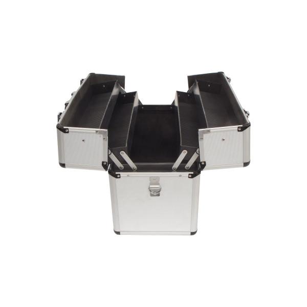 TOOLCRAFT Werkzeugkoffer 450 x 320 x 225 mm (B x H x T) 12kg silber