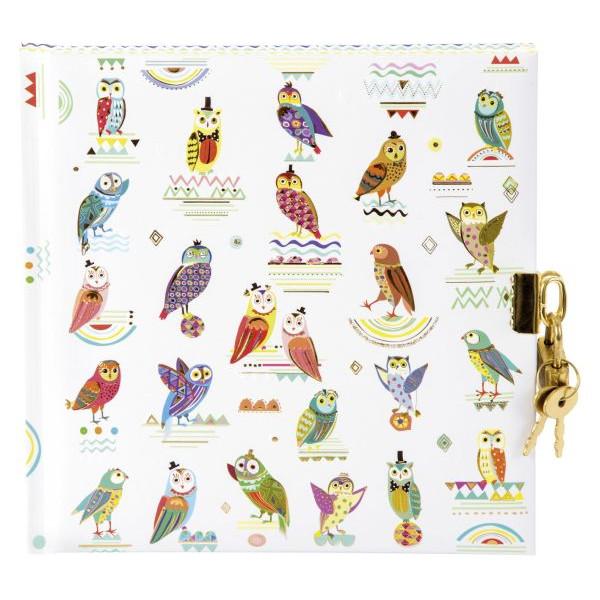 Goldbuch Tagebuch Owls - 96 Seiten