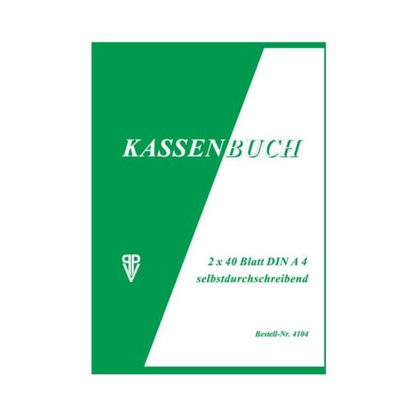 PENIG PENIG 4104 Kassenbuch A4 2x40BL