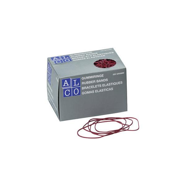 (12,04 EUR/1 kg) Alco Gummiringe 739 Ř 50mm rot 500g