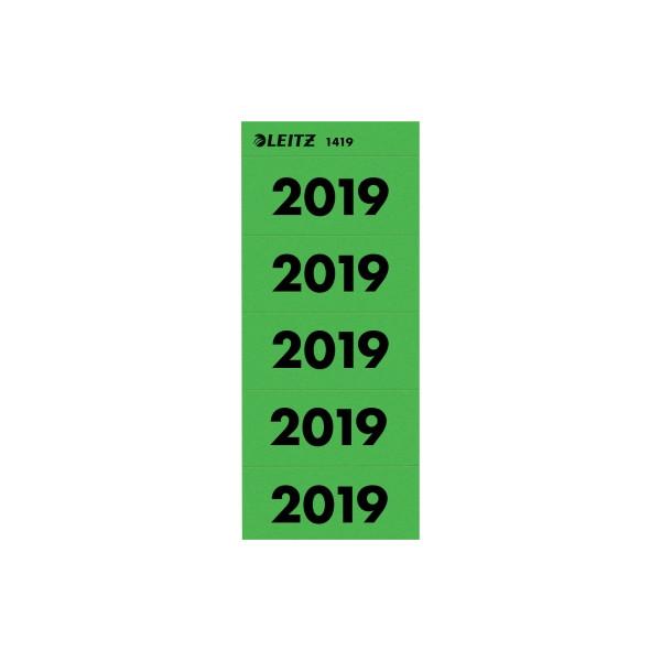 Leitz Jahreszahlen 2019 grün 60x25,5mm selbstklebend 100 Stück