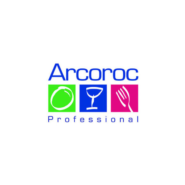 Arcoroc Glas, Salto, für Whisky, 320 ml, 8,5 x 8,2 cm, blau