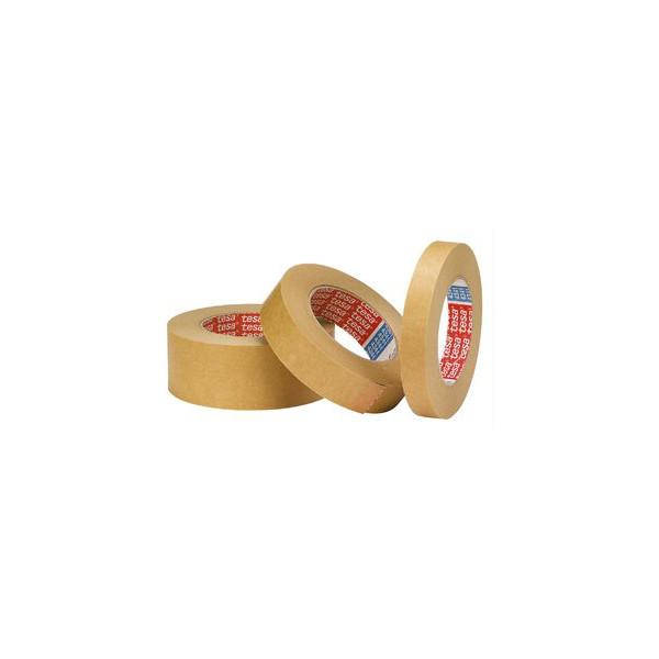 tesa Kreppklebeband tesakrepp® 4341, Papier, ablösbar, 19 mm x 50 m, braun
