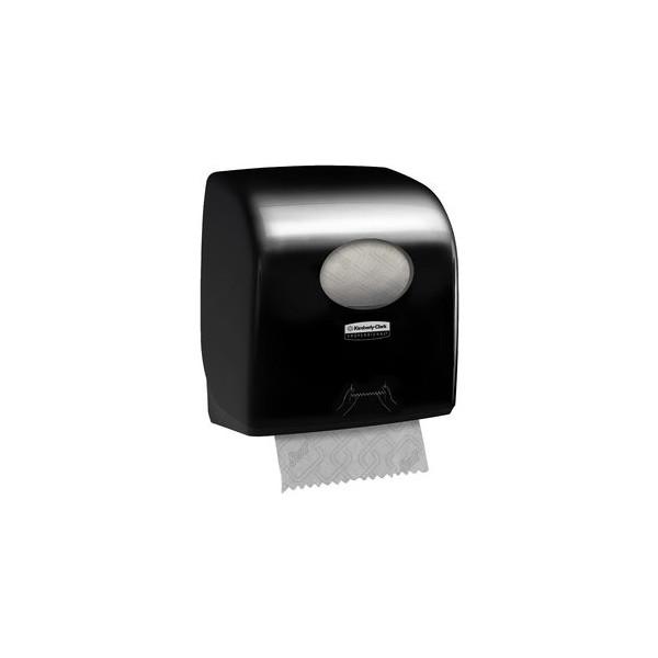 Aquarius Handtuchspender, Kunststoff, 37,4 x 24,8 x 29,7 cm, schwarz