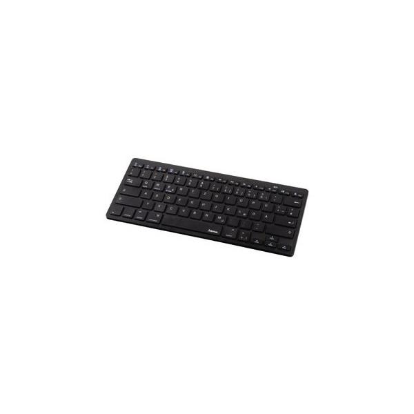 hama Tablet-Tastatur Key4ALL X510 108392, kabellos (Bluetooth), Sondertasten, schwarz