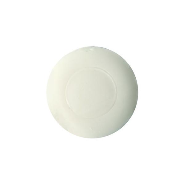 HYGOSTAR Seife, 4,5 x 1,5 cm, rund, Plisseeverpackung, 2 x 250 Stück, weiß