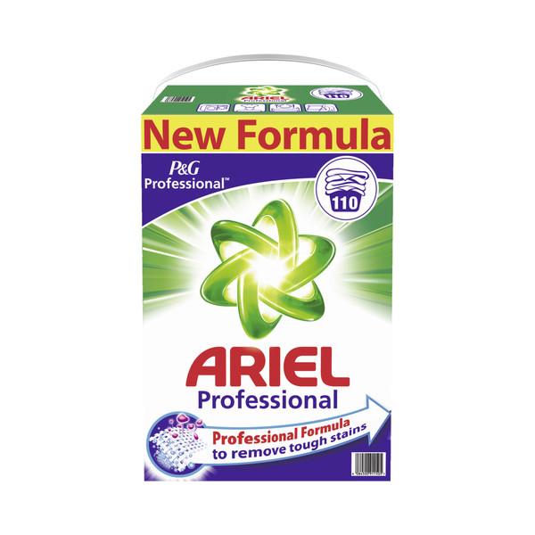 Ariel Waschmittel Professional, Regulär, Pulver, Karton, für 110 Reinigungen