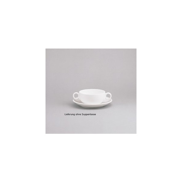 Schönwald Untertasse Form 98 Ř 14,7cm weiß Porzellan stapelbar