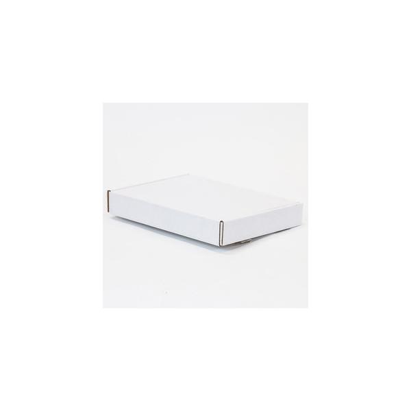 Pressel Versandkarton, Haftkl.verschl., i: 330x250x47mm, Tragf.: 20 kg, weiß