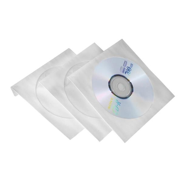 Intenso 100 Intenso CD-/DVD-Hüllen Papier