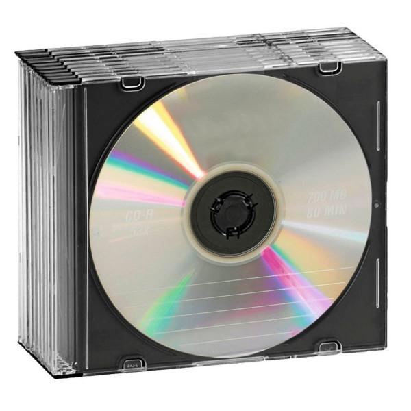 Intenso 10 Intenso CD-/DVD-Hüllen Slim Cases