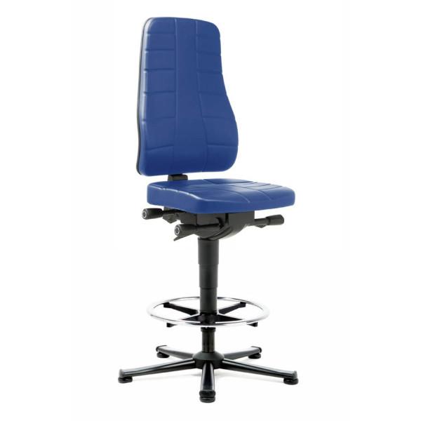 bimos bimos Arbeitsdrehstuhl All-In-One blau