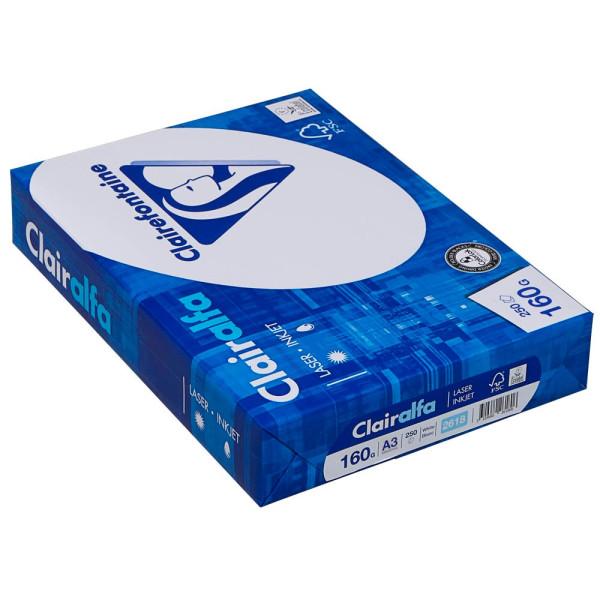 Clairefontaine Clairefontaine Kopierpapier Clairalfa A3 160 g/qm