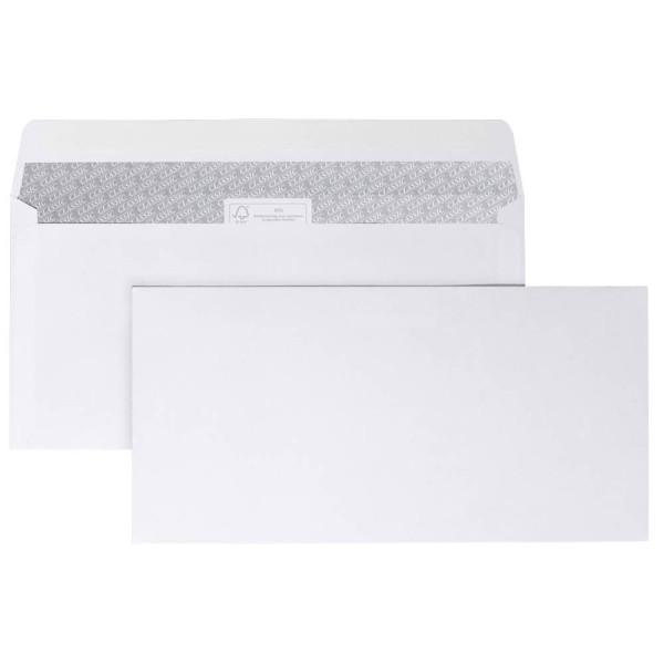 ÖKI 25 ÖKI Briefumschläge DIN lang ohne Fenster