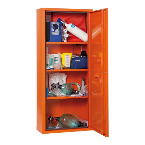 SÖHNGEN Medizinschrank Notfallmedizin ohne DIN orange