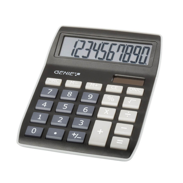 GENIE GENIE 840 BK Tischrechner