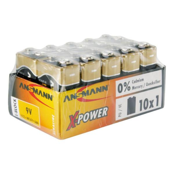 ANSMANN ANSMANN Batterie X-POWER E-Block 9,0 V