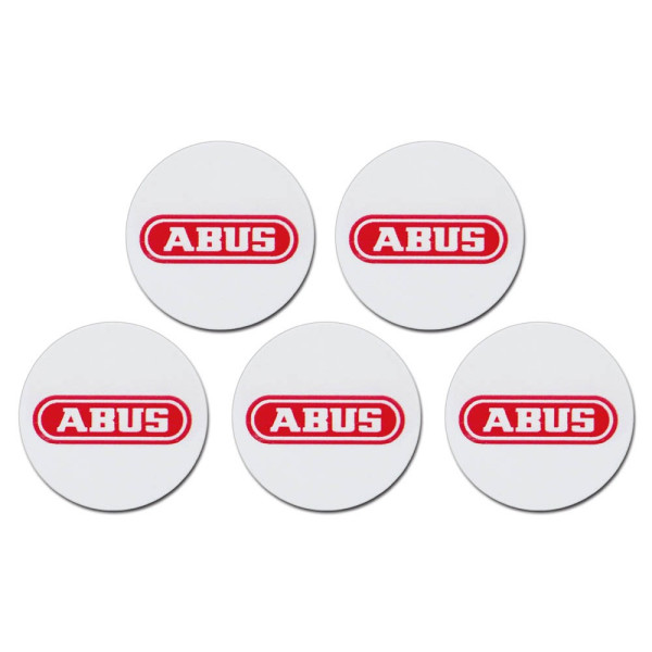 ABUS 5 ABUS Alarmanlagen-Chip-Sticker Smartvest