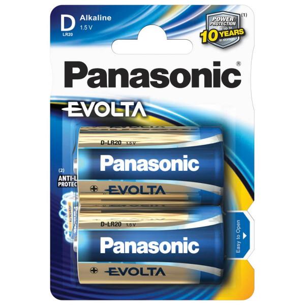 Panasonic Panasonic Batterie Evolta Mono D 1,5 V