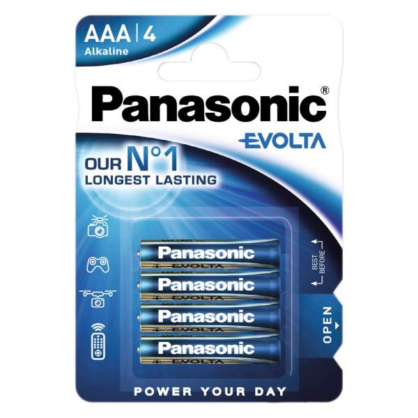 Panasonic Panasonic Batterie evolta Micro AAA 1,5 V