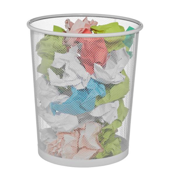 Zeller Papierkorb 23,0 l weiß