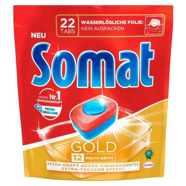 Somat Somat GOLD 12 MULTI-AKTIV Spülmaschinentabs 22 St.