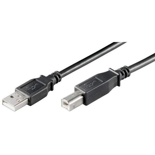 goobay goobay USB 2.0 A/USB 2.0 B Kabel 1,8 m